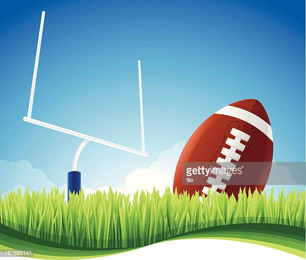 american football background - football league stock illustrations