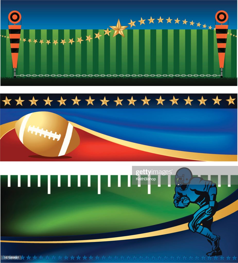 American Football Banner Designs High Res Vector Graphic Getty Images