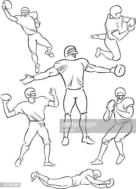 American Football playing figures 5
