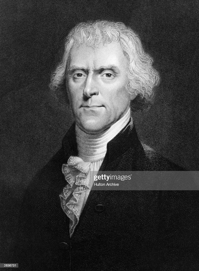 Thomas Jefferson : News Photo