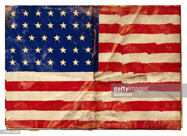 american union flag (xxl) - american civil war stock illustrations