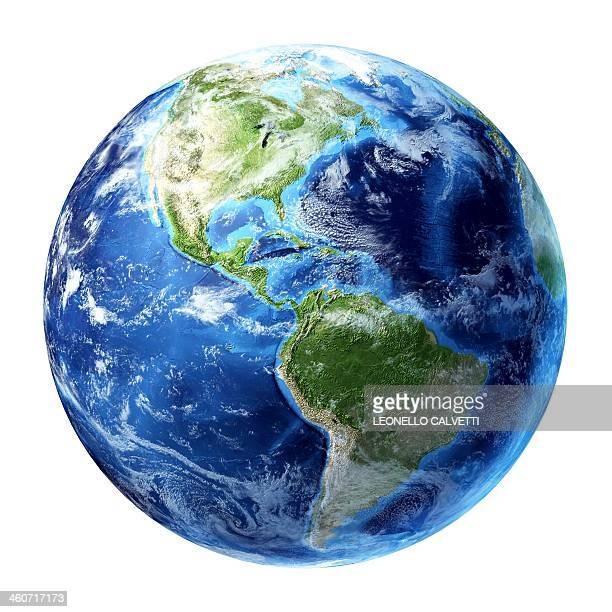 americas, artwork - planet earth stock illustrations