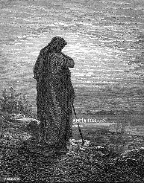 アモス prophesies - 旧約聖書点のイラスト素材/クリップアート素材/マンガ素材/アイコン素材