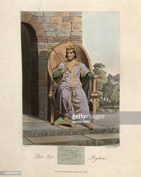 Ancient British King, Pabo Post Prydain