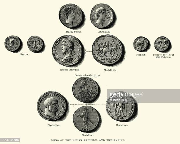 Ancient coins of the Roman Republic and Empire