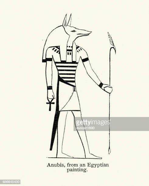 Ancient Egyptian God Anubis