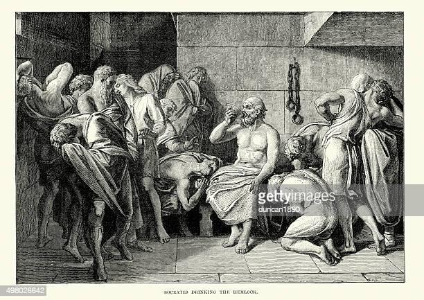 Ancient Greece - Socrates drinking the Hemlock