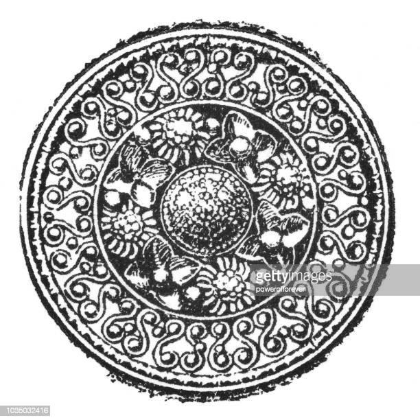 Ancient Greek Gold Decorative Ornament (6th Century BC)