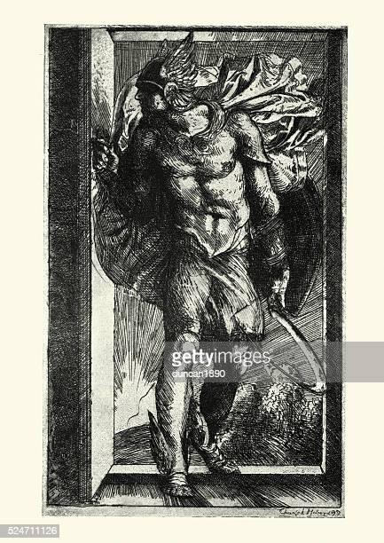 Ancient Greek Olympian God - Hermes