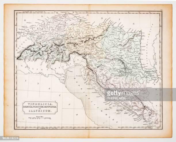 Gammal Karta Italien.Forntida Bildbanker Med Illustrationer Och Tecknat Getty Images