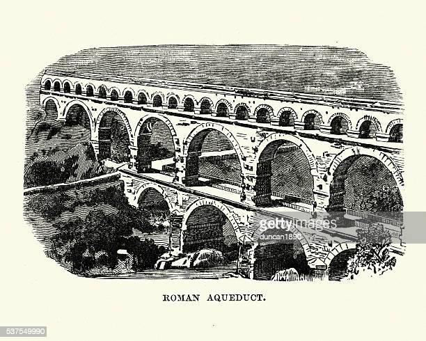 Antigua Roman Acueducto