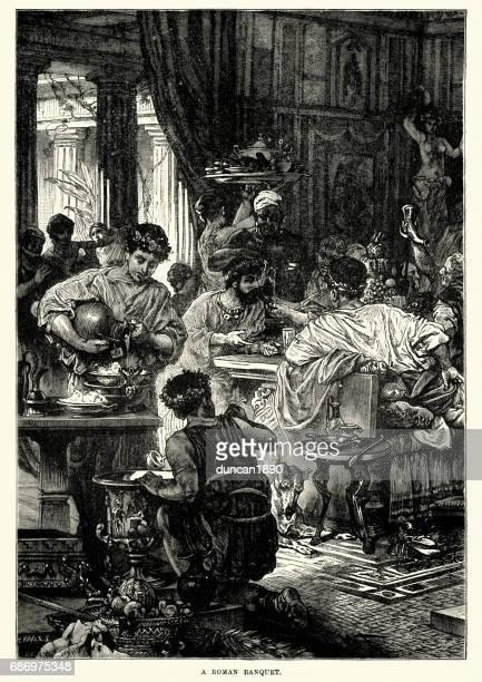 Ancient Roman Banquet