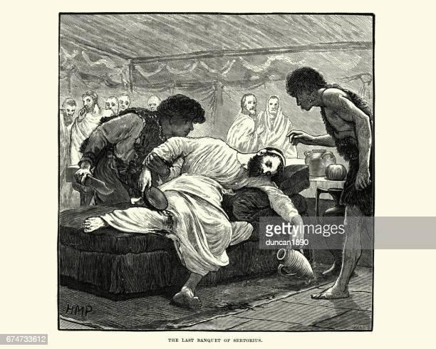 Ancient Rome - Last Banquet of Quintus Sertorius