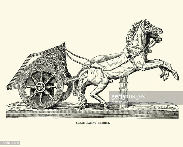 Roman Chariots Drawings 60 Top Chariot Stock I...