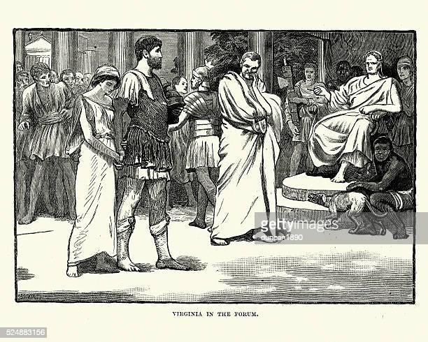 Ancient Rome - Verginia in the Forum