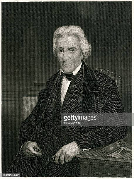 andrew jackson - former stock illustrations, clip art, cartoons, & icons