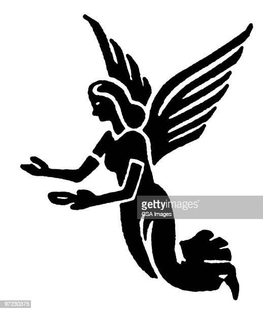 illustrations, cliparts, dessins animés et icônes de angel - impatient