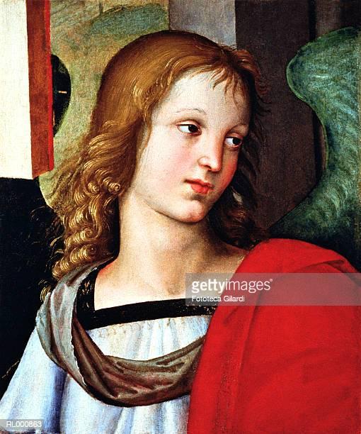 angel - fine art portrait stock illustrations, clip art, cartoons, & icons
