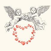 angel or cupid vector llustration
