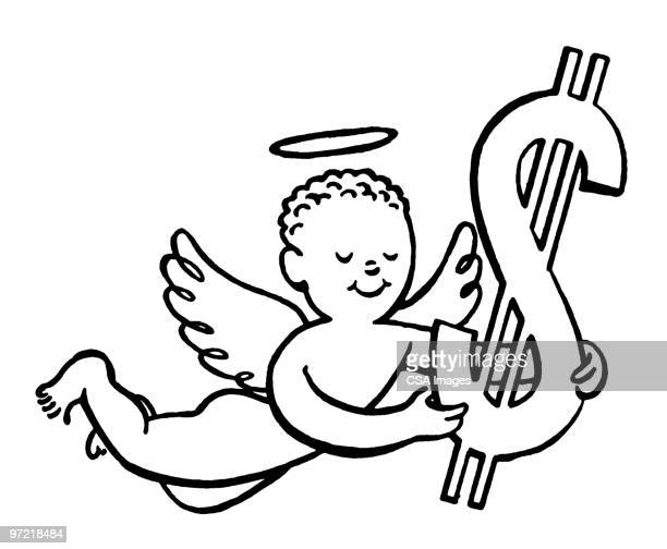 Angel with Money