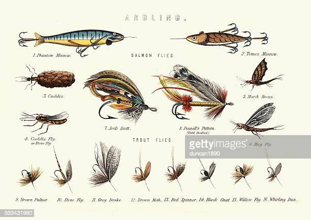 Angling - Victorian Fishing lures