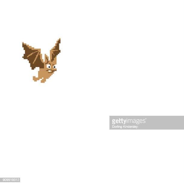 angry bat - animal limb stock illustrations, clip art, cartoons, & icons
