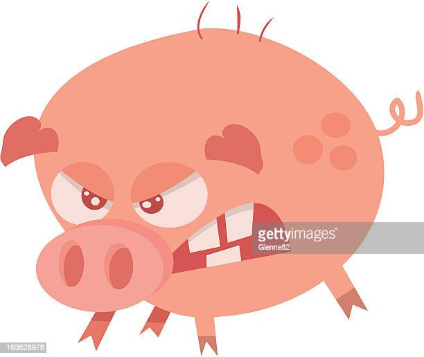30 Top Mad Pig Stock Vector Art & Graphics - Getty Images