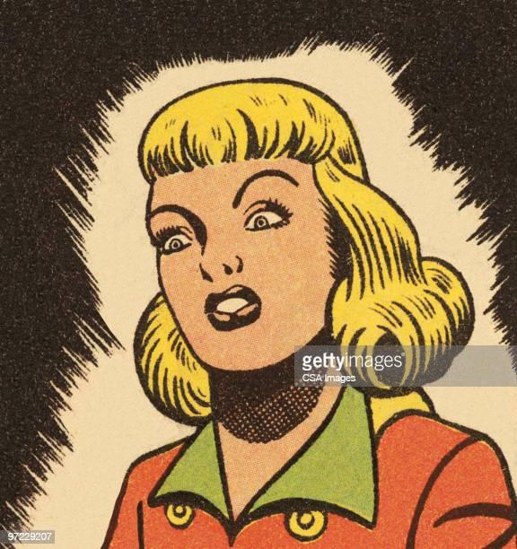 angry woman - spleen stock illustrations