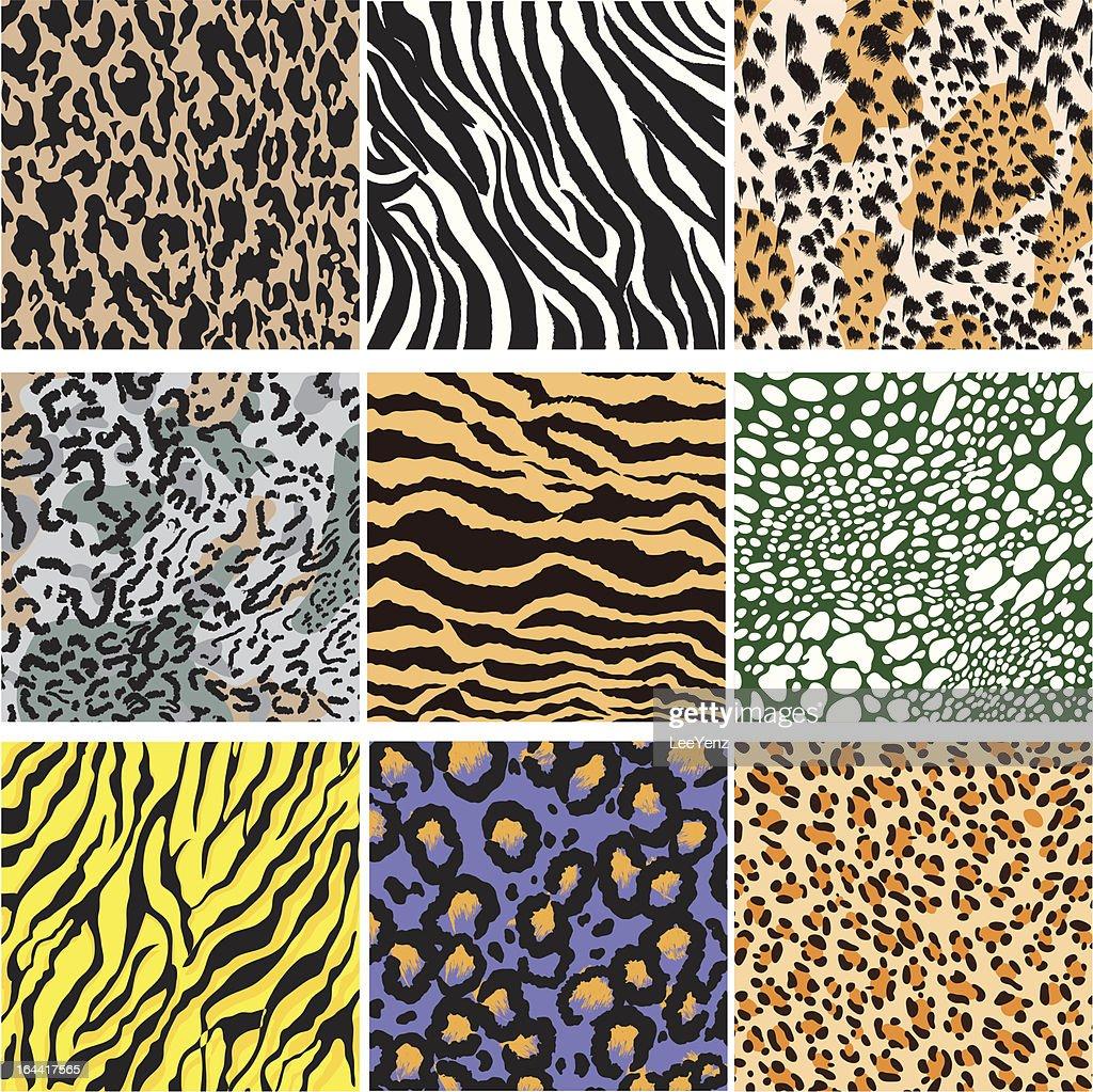 Animal Skin Set