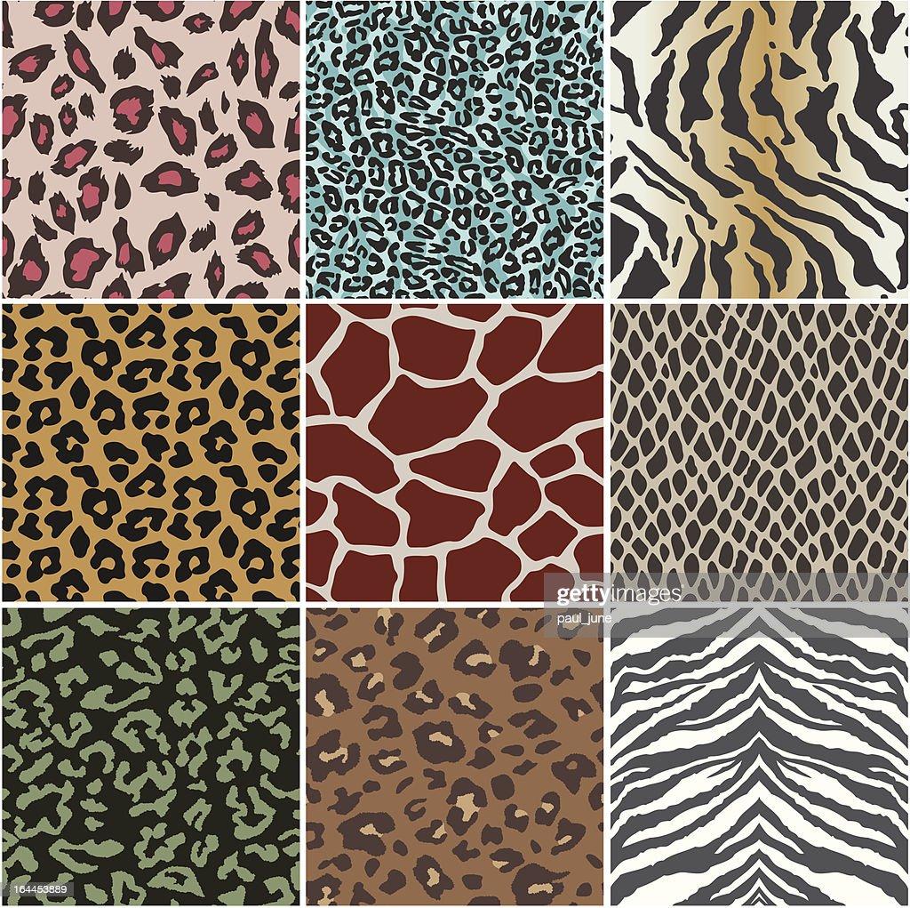 animal skin swatch