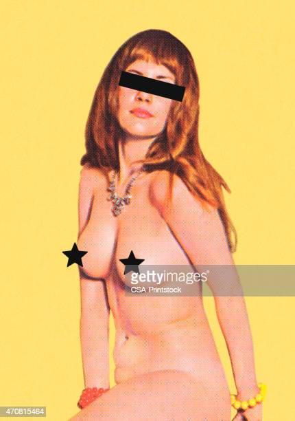 bildbanksillustrationer, clip art samt tecknat material och ikoner med anonymous naked woman - naket