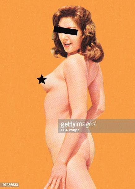 anonymous naked woman - seduction stock illustrations, clip art, cartoons, & icons