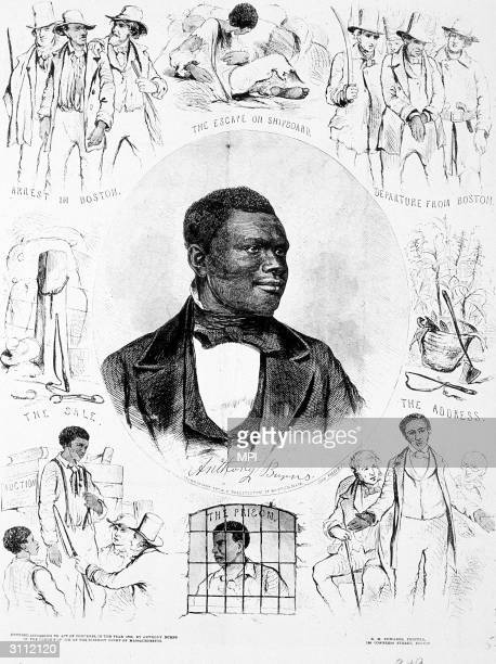 Anthony Burns surrounded by scenes of his capture He was arrested in Boston in May 1854 on a charge of theft Recognised as a fugitive slave his...