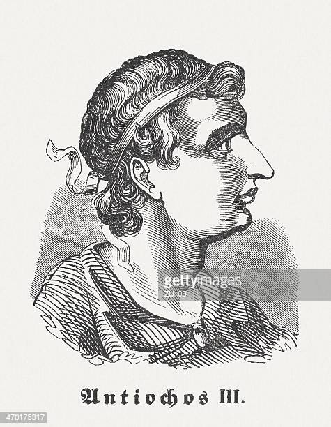 antiochus iii (242 bc-187 bc), - athens georgia stock illustrations, clip art, cartoons, & icons