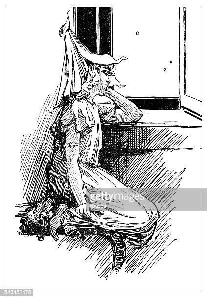 60 Top Old House Night Cartoon Stock Illustrations, Clip