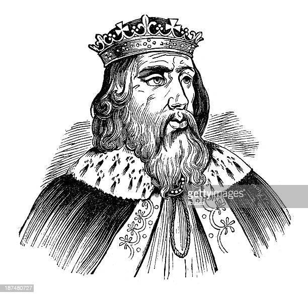 Antiguidade ilustração de Alfredo o Grande