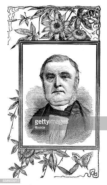 ilustrações, clipart, desenhos animados e ícones de ilustração antiga de james fraser, bispo - bishop clergy