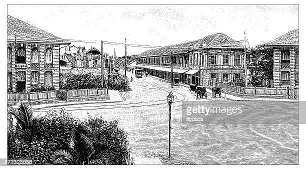 Antique illustration of Johannesburg