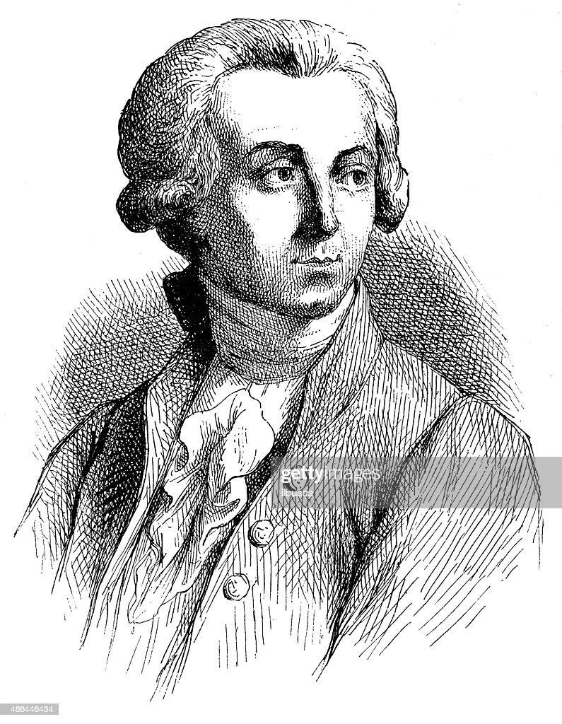Ilustração de Lavoisier antigo : Ilustração de stock
