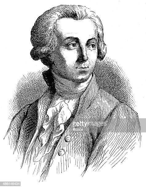 Antique illustration of Lavoisier