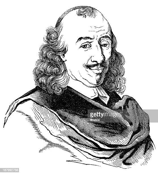 Antique illustration of Pierre Corneille