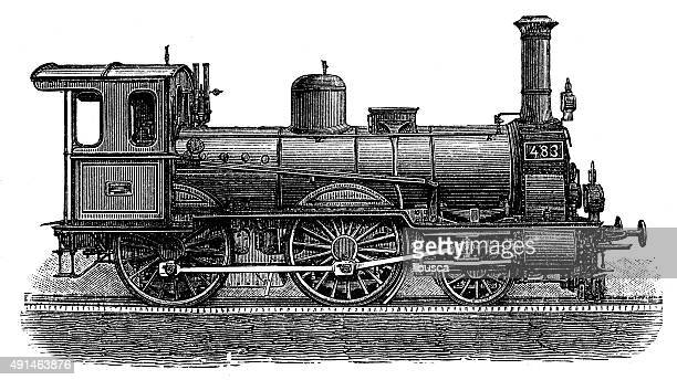 Locomotive Stock Illustrations And Cartoons | Getty Images