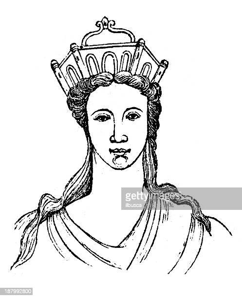 97 Princess Crown Drawing High Res Illustrations Getty Images Draw a cartoon princess that will charmed every prince from around the world! https www gettyimages com illustrations princess crown drawing