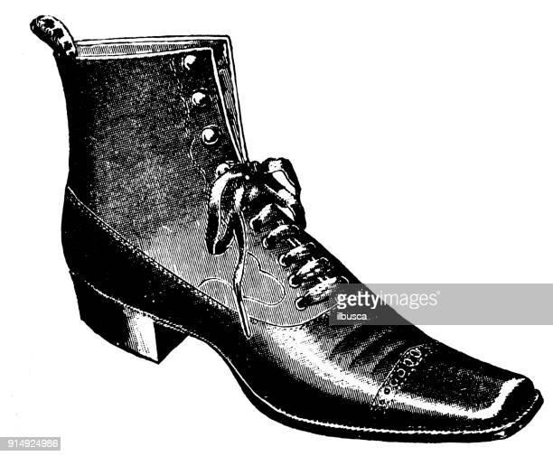 Antique illustration: Shoe
