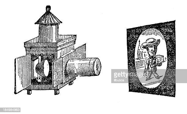 Antique image projector