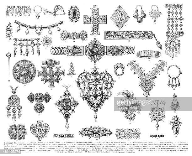 Antique Jewelry engraving 1896