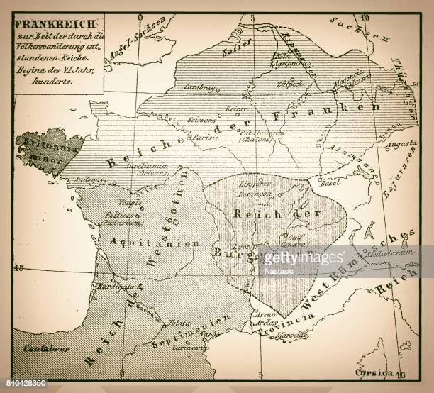 antique map of france - normandy stock illustrations, clip art, cartoons, & icons