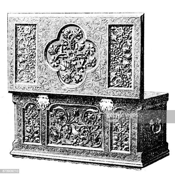 Jewelry Box High Res Illustrations - Getty Images