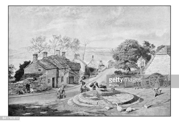 絵画のアンティーク フォト: 町 - 1800~1809年点のイラスト素材/クリップアート素材/マンガ素材/アイコン素材