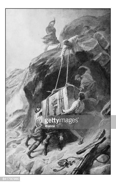 絵画のアンティーク写真: 輸送箱 - 1800~1809年点のイラスト素材/クリップアート素材/マンガ素材/アイコン素材